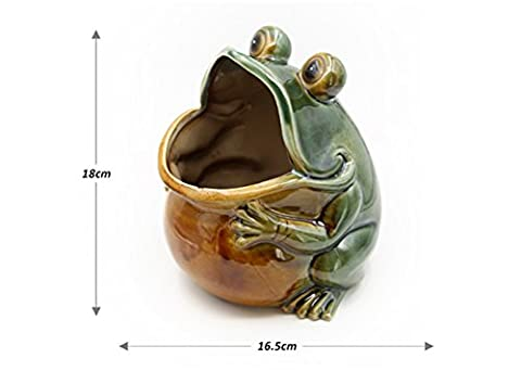 Food Jars Crocks Decorative Plates European Retro Containers Ceramic Decoration Frog Indoor Arts Ware Photography Props Home Decoration Small Dish