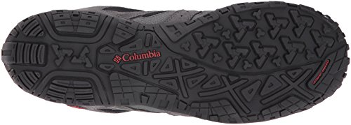 Columbia Redmond Mid Waterproof Scarpe da Trekking Grigio (Black/gypsy 010)