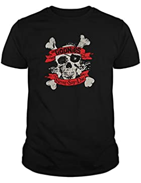 The Fan Tee Camiseta de Mujer Los Goonies Never Die Pelicula Retro 80