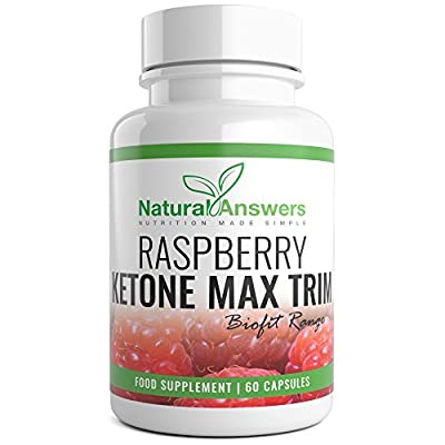Raspberry Ketone Max by Natural Answers - 1 Month Supply High Quality Dietary Pills - Maximum Strength Fat Burning Supplement - Pure Appetite Suppressant Formula - Quick Weight Loss UK Manufactured from Natural Answers
