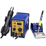 Estación soldadura BK-878 L +Soporte, Airre Brushless, LCD 3 digitos 700W 450ºC