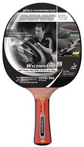 Donic Schildkröt Tischtennis-Schläger Waldner 900 inkl.Gratis-Lern-DVD, schwarz / rot