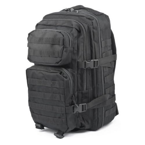 41WONpEeAdL. SS500  - Ora-Tec US assault rucksack, 50 litres, black 50L