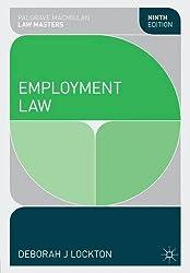 Employment Law (Palgrave MacMillan Law Masters)