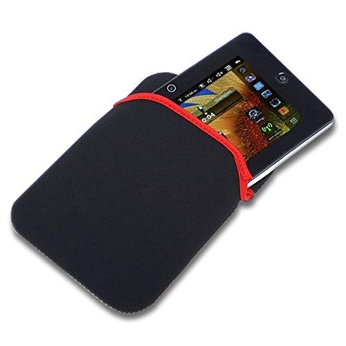 LUPO® Universal Schutz Neopren Hülle Tasche für Alle 7, 8, 9,10 Zoll Tablets inc Apple iPad 1,2,3,4, Air, Google Nexus 10, Galaxy Tab 3, Android (Schwartz) (Tasche Inc)
