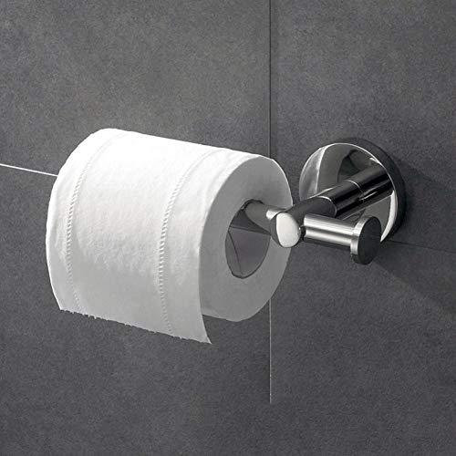 Minyine Taschentücherbox Toilettenpapierhalter mit hängendem Haken toilettenpapierhalter 304 stainle steedouble Papier towerack Spiegel licht rolpaper rohrregal Servietten-Organisator