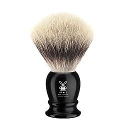 Mühle Rasierpinsel, Silvertip Fibre®, Edelharz schwarz