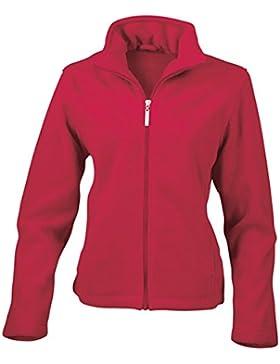 Resultado de la mujer re85F para hombre (forro polar), Liso, mujer, color rojo, tamaño XS