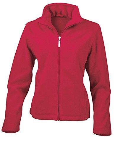 Result: Ladies` Fleece Jacket R085F Red