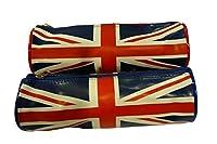 Très belle Trousse scolaire Fashion . ( Prix pour 1 ) . Dimension : 22 cm . 100% Polyester . Motifs drapeau Angleterre . Produit sous licence Officiel.