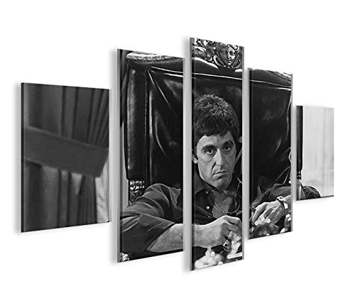 islandburner Bild Bilder auf Leinwand Al Pacino MF XXL Poster Leinwandbild Wandbild Dekoartikel Wohnzimmer Marke