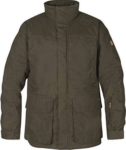 Fjällräven Herren Brenner Pro Padded Jacket Jacke, Dark Olive, L