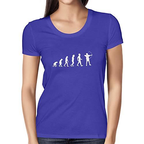 Texlab Bogenschütze/Bogenschießen/Archer Evolution - Damen T-Shirt, Größe XL, ()