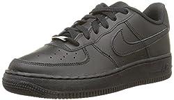 Nike Herren AIR FORCE 1 '07' Low-Top, Schwarz (Black/Black 001), 43 EU