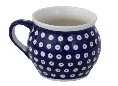 Bunzlauer keramik kugelbecher v = 0,42 l (motif 42