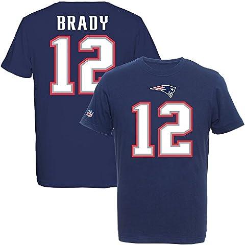 Majestic NFL Fan Shirt - New England Patriots 12 Tom