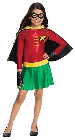 Red Robin Costume Dc - Rubies DC Super Heroes Girls Robin Costume
