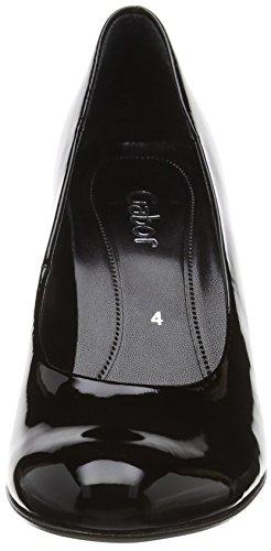 Gabor 45-210-77, Escarpins Femme Noir (Black Patent Ht)