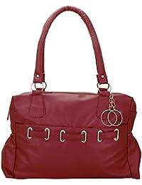Adjustable Buckle Hand Held Women & College Girls Leather Bag/Shoulder Bag Sholder Bag/Leather Bag/Hand Bag/College...