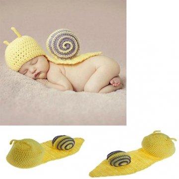Kostüm Schnecke Kleinkind - Qualitäts-Baby- Kleinkind- Schnecke häkeln Kostüm Fotografie Prop Kleidung