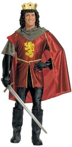 Widmann 35502 - Kostüm König Shirt, Hose, Umhang, Schuhcover und Krone, Gröߟe M