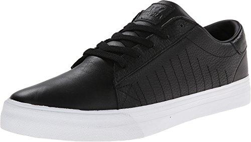 K-Swiss Belmont, Sneakers Basses homme Schwarz/Weiß