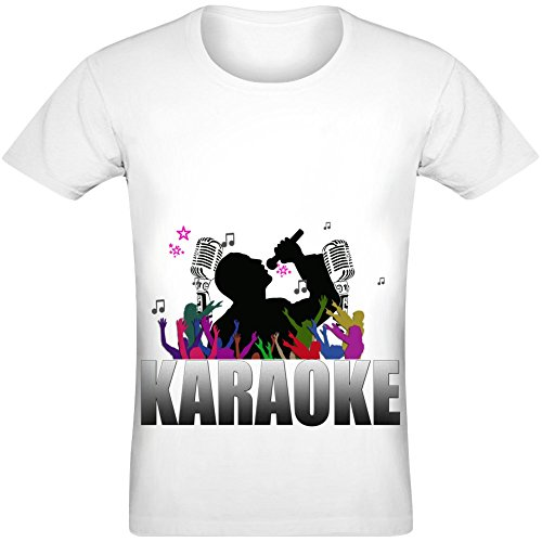 Karaoke T-Shirt for Men & Women - 100% Soft Polyester - All-Over Sublimation Printing - Custom Printed Unisex Clothing