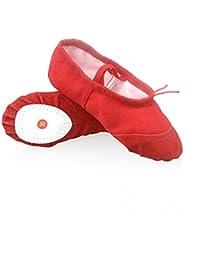 Kinder Tanzschuhe Weichen Ballettschuhe im Sommer und Herbst Erwachsene Üben Yoga Schuhe Tanzen Schuhe Katze Kralle Schuh,Schwarz,30