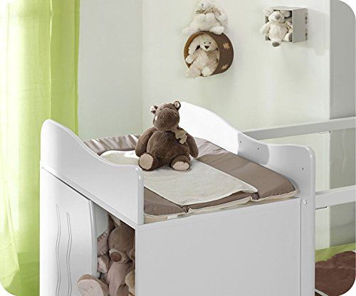 Mitwachsendes Babybett Jooly weiß - 2