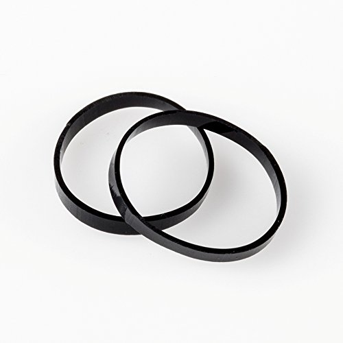 Haargummis, robust, wiederverwendbar 20mm Schwarz