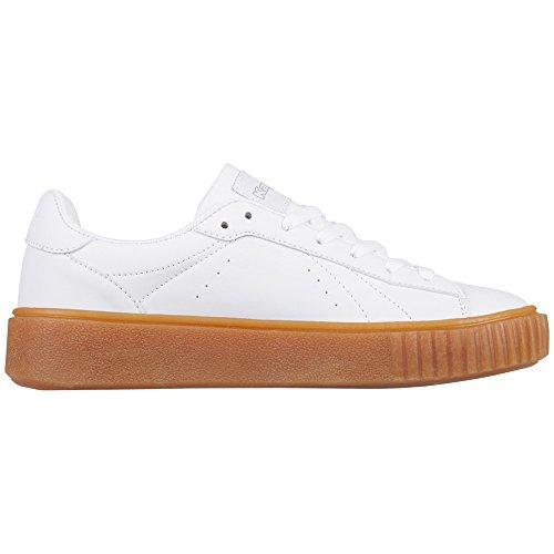 Kappa Damen Meseta PF Sneaker Weiß (1010 White)