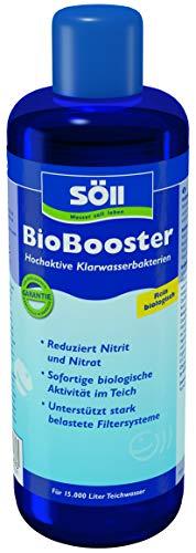 Söll 58110 BioBooster - Hochaktive Klarwasserbakterien beseitigen erhöhte Nitrit- und Nitratwerte - 500 ml