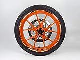 Bike Label 710046A Felgenbett mit Felgen-Aufkleber Set passend für KTM 390 Duke