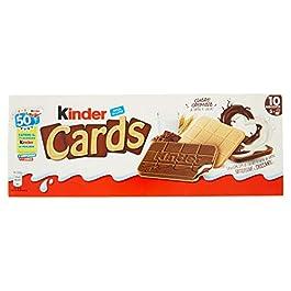 Kinder Cards – Biscotto Ripieno al Latte e Cacao – 128 g
