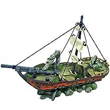 Wave barco de vela con piedras