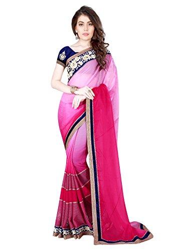 Mahotsav Women's Faux Chiffon Art Silk, Net , Art Silk Sarees ( 8216 )  available at amazon for Rs.2070