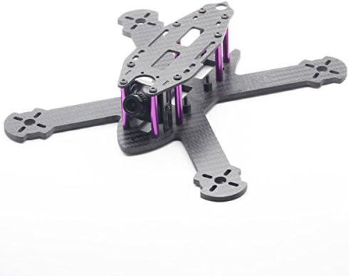 LaDicha HSKRC TWE210 210mm empatteHommes empatteHommes empatteHommes t 4mm Arm 3k Fibre de Carbone X Type FPV Racing Kit Frame pour Drone RC | La Réputation D'abord  5fdab3