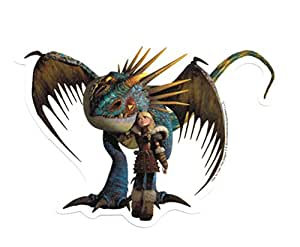 How To Train Your Dragon 2 Astrid and Stormfly Sticker