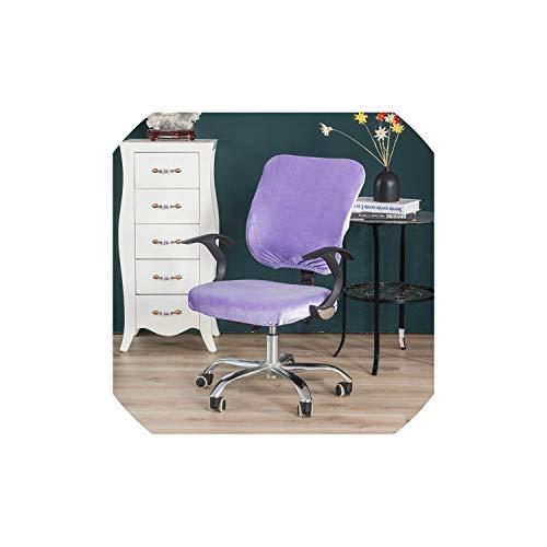 Pevv Wason chair covers Housse de Chaise Tissu élastique Bureau de Split Computer Chaise Couverture + Housse de siège 2Pcs / Set, YL-Yhr-Bao LAN Se, Taille Universelle