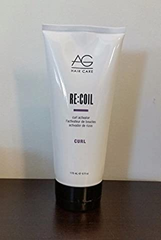 New Ag Hair Curl Recoil Activator 6oz by AG Hair Cosmetics (Recoil Curl-activator)