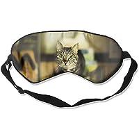 Eye Mask Eyeshade Cat At House Sleep Mask Blindfold Eyepatch Adjustable Head Strap preisvergleich bei billige-tabletten.eu