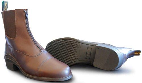 Mark Todd Chetwode Boots Devant zippé brun (Braun)