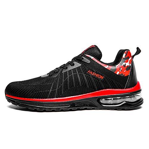 Unisex Running Scarpe Sportive Cuscino Aria, Moda Scarpe da Corsa Interior per Donna Uomo, Fashion Sneaker Basse Palestra Fitness Running Casual all'Aperto