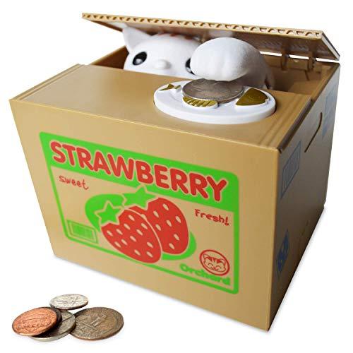 Goodlq rubare moneta banca kitty cat da spark giocattoli & giochi-cute gattino ruba moneta come magia-fun & cute salvadanaio per i bambini
