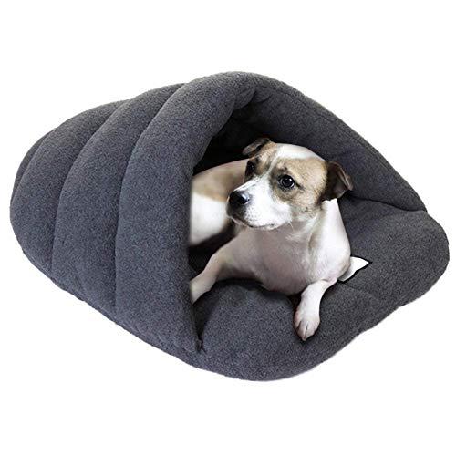Goodup - Cama para Mascotas, sofá, Cama para Mascotas, Cama Nido de Felpa Suave para Perro, Gato, Saco de Dormir, Manta Grande (L,...