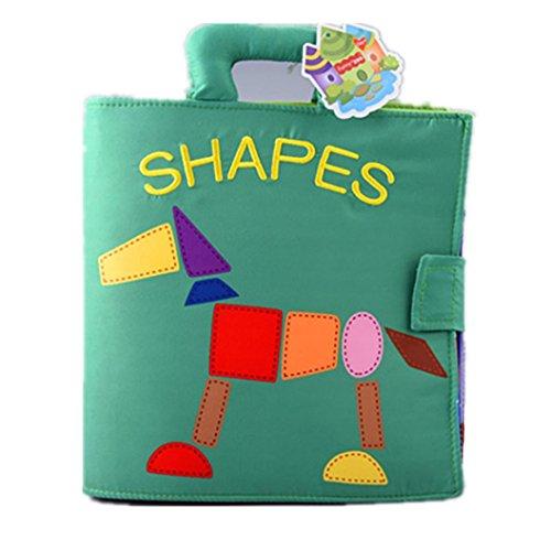 assende Baby Spielzeug Entwicklung Bücher lernen & Bildung Tuch Buch (Halloween-party-spiele Für Fünf-jährigen)