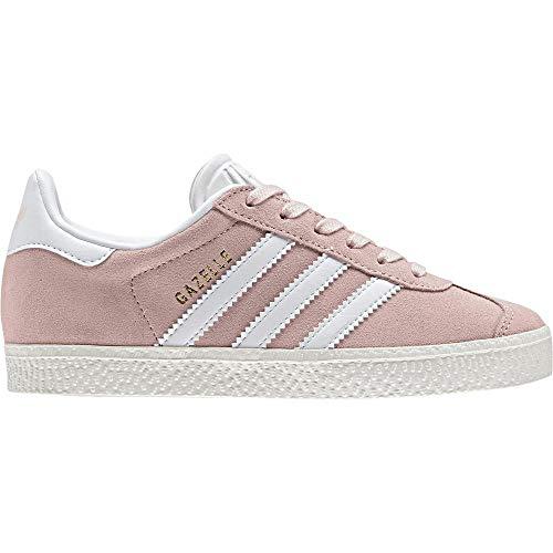 adidas Unisex-Kinder Gazelle C Fitnessschuhe, Pink (Roshel/Ftwbla/Dormet 000), 29 EU