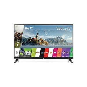 LG Electronics 43LJ5500 1080p Smart LED TV 2017 Model (43-inch/38.5x24.8x 8.7inch , 43LJ5500)
