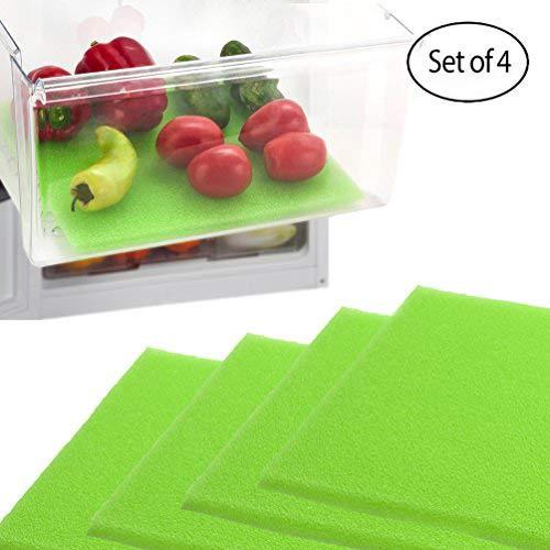 dualplex Fruit & Veggie Life Extender Kofferraumwanne für Kühlschrank Schubladen (4Pack)-verlängert die Lebensdauer Ihrer erzeugen & verhindert Verderb, 30,5x 38,1cm Life Extender