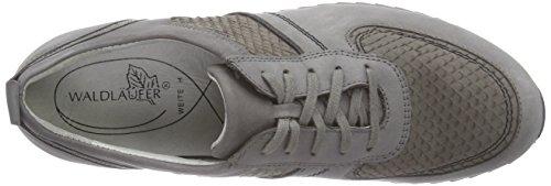 Waldläufer Hurly, Damen Sneakers Grau (Tender Jack-Oil Conda pietra)